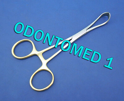 Lorna Towel Clamp 5.25 Gold Plated Surgical Dental Instruments