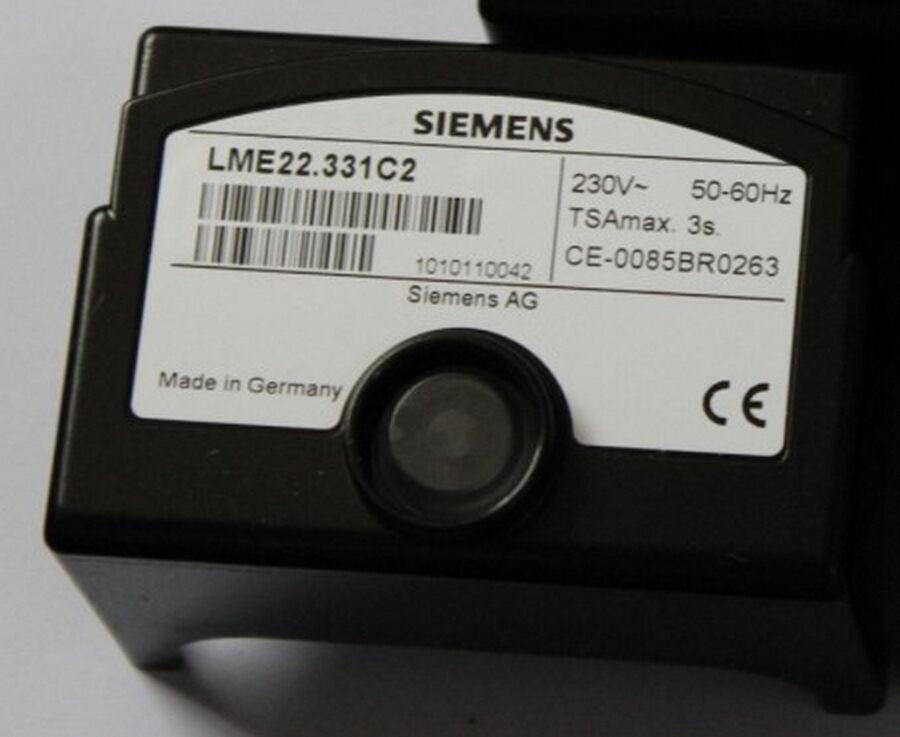 SIEMENS Combustion Program Controller LME22.331C2 Control Box for Burner Control