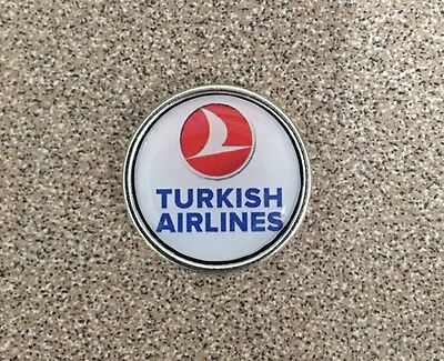 Turkish Airlines 747 777 737 787  Logo Pin Badge  Check My Store List