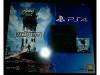 Sony PlayStation 4 brand new and sealed with Star Wars Battlefront PS4