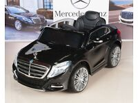 Mercedes Benz children's ride on S600 electric car