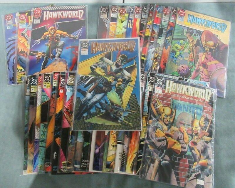 Hawkworld #1-32 Annual 1-3  COMPLETE RUN DC Comic Book Lot 35 High Grade