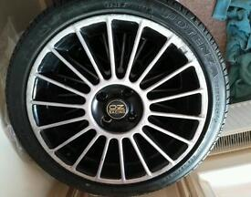"OZ Racing 17"" alloys with tyres"