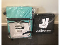 Deliveroo core kit - roll top backpack + small thermal bag