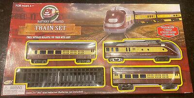 New Train Set Kids Toys Children Christmas Xmas Gift Decorations Train Set