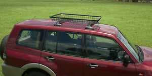 Roof-Top-Storage-Basket-Steel-Powdercoated-RB1180-4WD-Camping-Car-Accessory