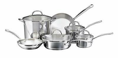 Stainless Steel Induction Cookware Set Best Kitchen Pots And Pans Sets