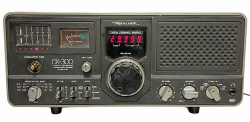Realistic Communications Receiver Model DX-300 (AC- Battery)