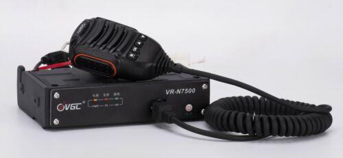 VGC VR-N7500 VHF/UHF Analog Dual Band Mobile Radio APP Programable     US Seller
