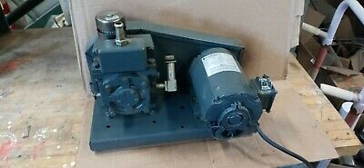Welch Vacuum 1400 Duo Seal Belt Drive Vacuum Pump - Used