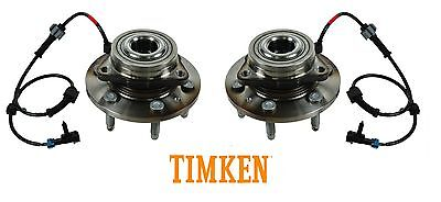 TIMKEN SP500300 Set of 2 Front Wheel Hubs For Chevy GMC Pickup Truck 4x4 4WD