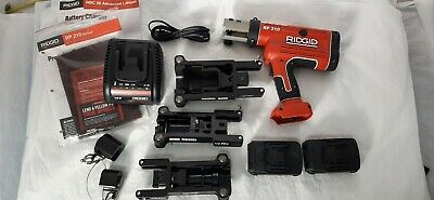 Ridgid Rp210 Compact Battery Press Tool New. Loaded Kit 90 Day Warranty Rp-210