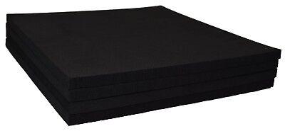 "XCEL Craft Foam Pads Furniture Pads Acoustic Studio Squares 9""x9""x3/8"" (4 pcs)"
