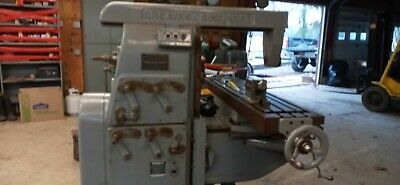 Greaves Cincinnati Horizontal Milling Machine W Lots Of Tooling