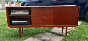 Teak Mid-Century Entertainment Stand - Tribute 20th