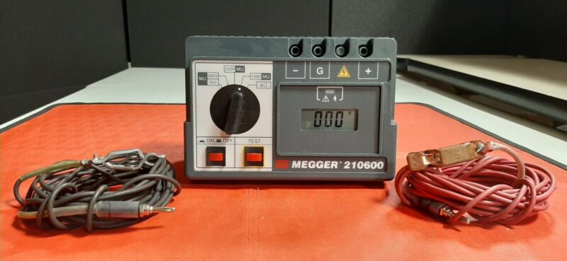 Megger 210600 Tested good, selling as is, No returns