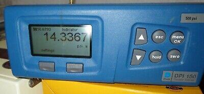 Druck Dpi 150 Precision Pressure Indicator 500 Psi With Barometric Option