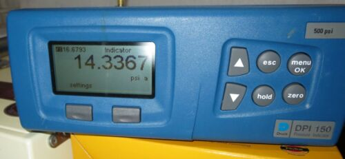 Druck DPI 150 Precision Pressure Indicator, 500 psi with barometric option