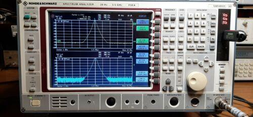 Rohde Schwarz FSEA 30 Spectrum Analyzer
