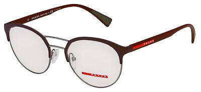 Prada Sport Eyeglasses PS 52HV VHP1O1 52 Burgundy Frame (Red Prada Eyeglasses)
