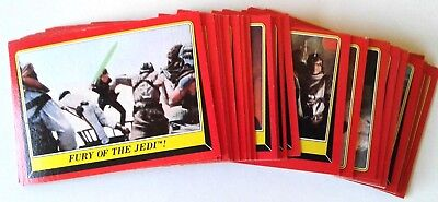 1983 TOPPS VINTAGE STAR WARS RETURN of the JEDI COMPLETE SET 1-132