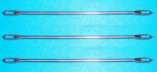3 Double-Eyed Transfer Needle All 4.5mm Standard Gauge Knitting Machine/Ribber