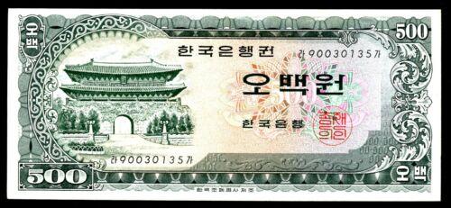 South Korea ... P-39a ... 500 Won ... ND(1966) ...* XF *
