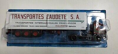 CAMION PEGASO 1231T FRIGORIFICO TRANSPORTES CAUDETE 1:43 SALVAT