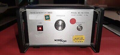 Noisecom Nc6108 5983 Noise Generator 100hz To 500mhz