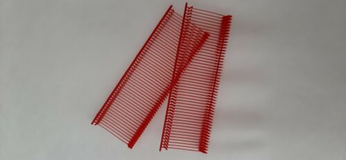 600 1 inch Barbs Fasteners RED Fits Standard or Reg Price Tag Tagging Gun