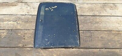 88-99 Chevy GMC 1500 Truck Passenger Right Rear Extended Cab Vent Window OEM