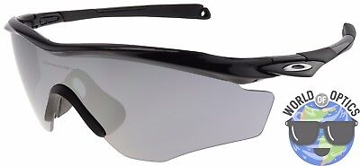 Oakley M2 Frame XL Sunglasses OO9343-04 Polished Black | Black Iridium Lens