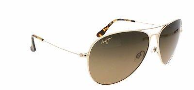 Mavericks MAUI JIM Polarised Sunglasses & Case HS 264 16 Gol
