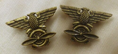 CHINESE PILOT EAGLE SLEEVES / SHOULDER INSIGNIA // FLYING TIGER AVG / USAF WW2