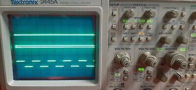Tektronix 2445a 150 Mhz Oscilloscope