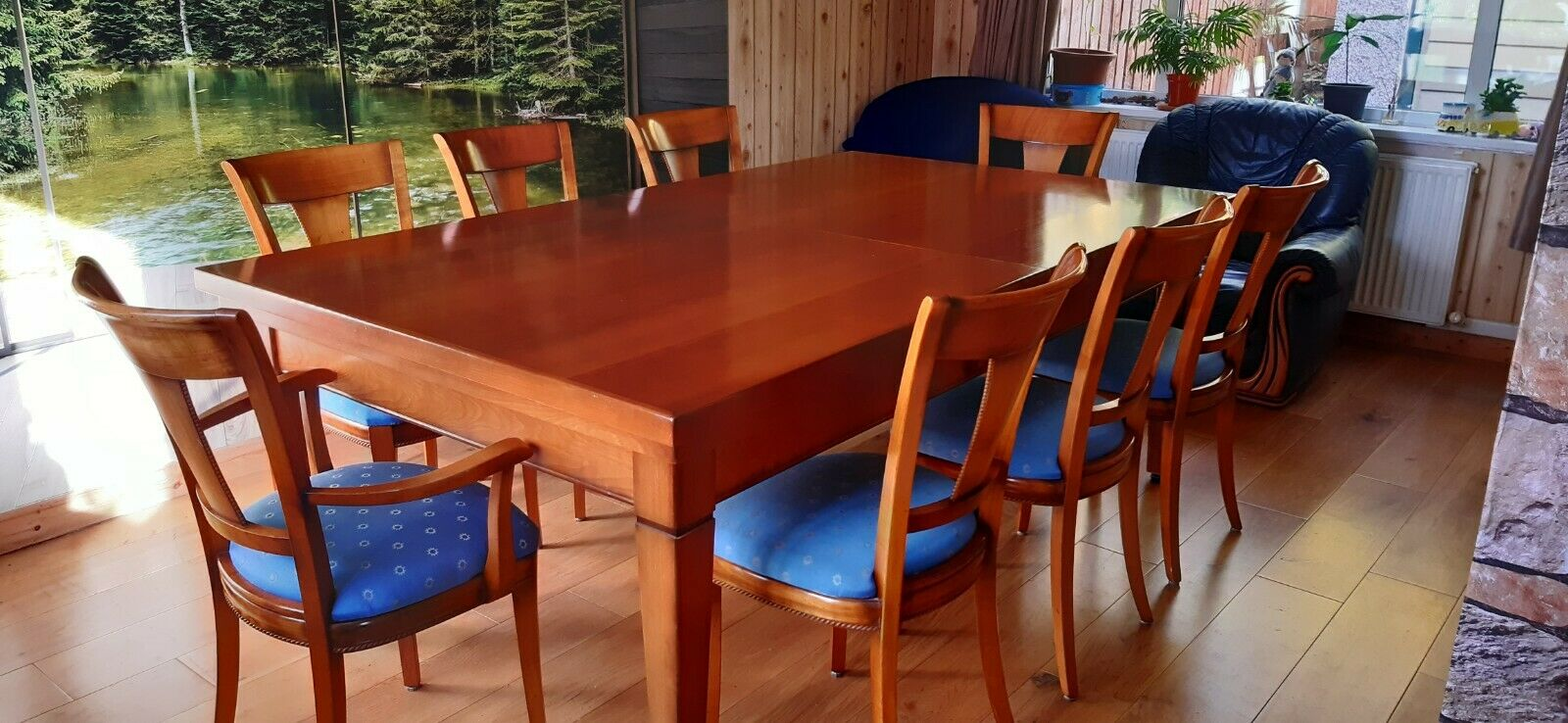 Dinning table, snooker / pool table 7ft