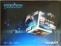 Humax Youview DTR-T1000 500GB Hardly Used.