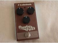 TC Electronics Rusty Fuzz Fuzz pedal