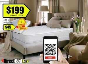 BRAND NEW  Tight Top Pillow Mattress Queen or Double Size only $199 Includes FREE Same Day or Next Delivery