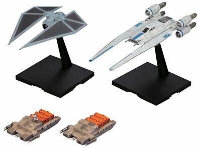 Bandai Hobby Star Wars U-Wing Fighter & Tie Striker Rogue One: A Star Wars