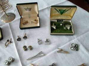 Beautiful Collection of Cuff Links - Tie Clips, Etc. Kitchener / Waterloo Kitchener Area image 2