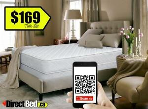 BRAND NEW  Tight Top Pillow Mattress only $169 Includes Same Day or Next Delivery