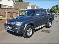 2006 Mitsubishi L200 Trojan 2.5TD, +VAT, Leather, NO DENTS, P/X, FINANCE & Credit Cards Welcome