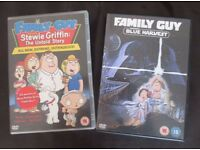 2 Family Guy 'specials' DVDs