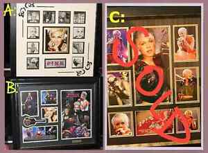 PINK singer framed wall limited edition prints music memorabilia Blakeview Playford Area Preview