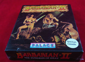 ZX Spectrum :  Barbarian II 2 - Palace Software 1989