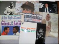 A COLLECTION OF TONY BENNETT LP'S. VISUALLY IN VG CONDITION
