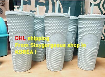 2021 Starbucks Korea Limited Summer Mint Studded Tumbler Cup 24 oz 710ml + DHL