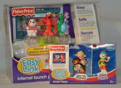 Fisher Price Disney Easy Link Internet Launch Pad w/ Bonus Smart Keys Brand New