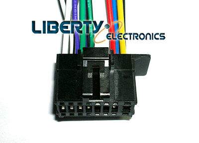 16 Pin Wire Plug Harness For Pioneer Dxt-736bt